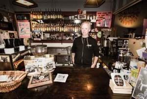 Matt Megyesi, owner of Mutiny Information Café