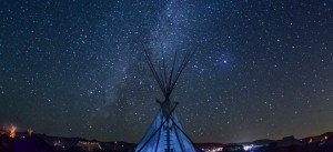 Night Sky at Standing Rock