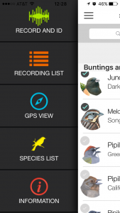 Screenshot of Song Sleuth app.