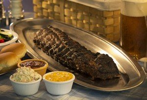 a rib rack and sides
