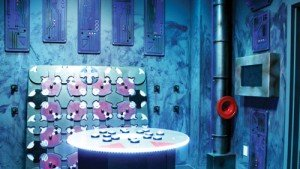 Inside one of Puzzah's puzzle rooms