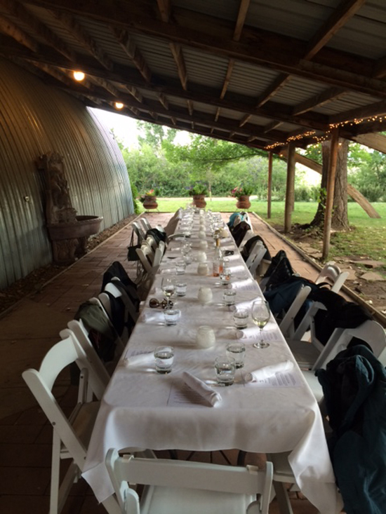 Farmer Girl dinners keep a low profile and emphasize the food. Photo courtesy of Farmer Girl