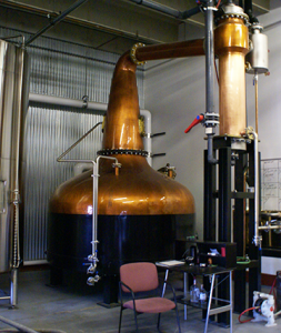 BVD's Forsyth Copper Pot Still