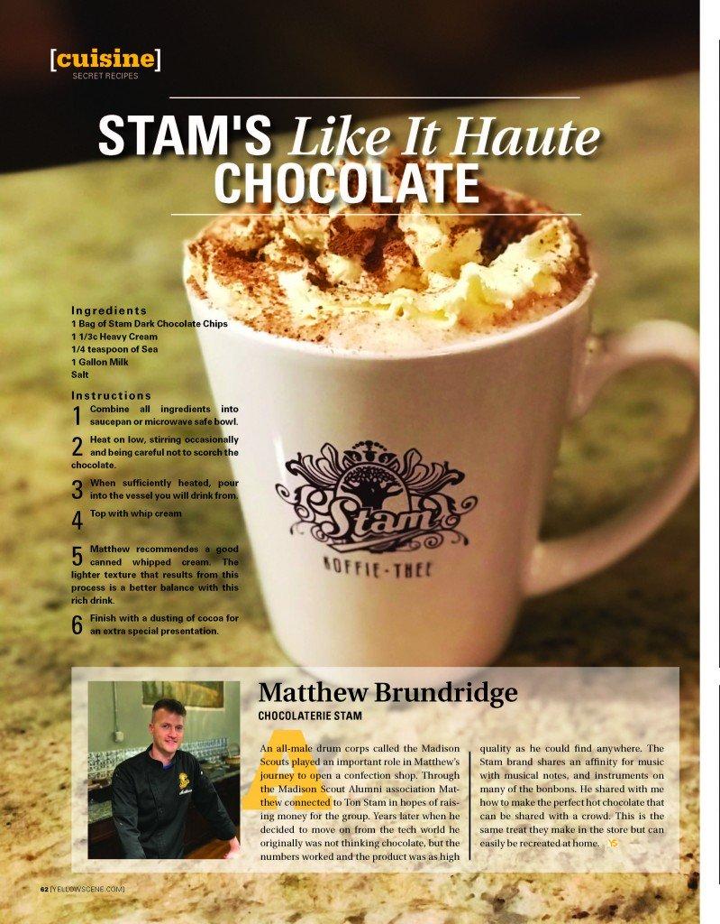 Secret Recipe: Stam's Like It Haute Chocolate