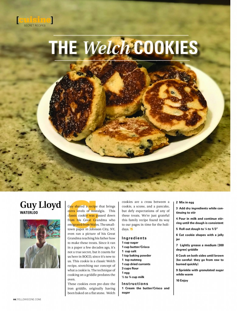Secret Recipes: The Welch Cookies