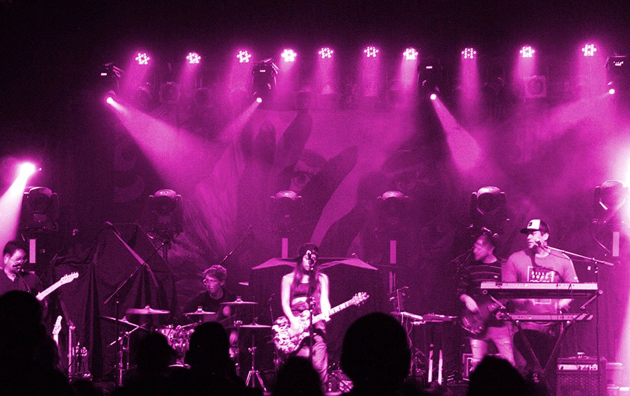Purple haze, Leilani Wolfgramm, Aggie Theater, Ft. Collins, By De La Vaca for YS Magazine