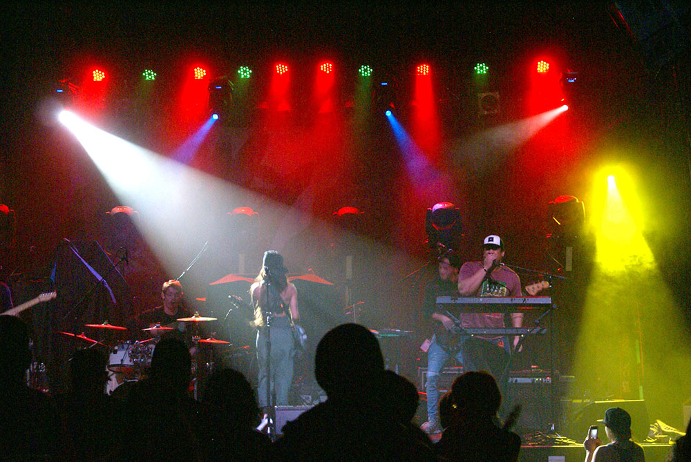 Backup, Leilani Wolfgramm, Aggie Theater, Ft. Collins, By De La Vaca for YS Magazine