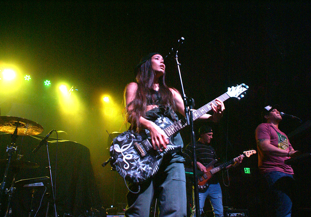 Up close, Leilani Wolfgramm, Aggie Theater, Ft. Collins, By De La Vaca for YS Magazine