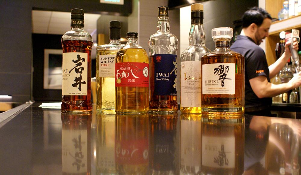 HAPA, Pearl Street, Whiskey selection by De La Vaca