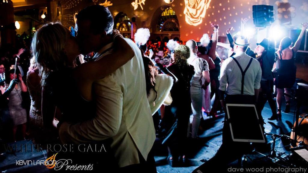 White Rose Gala, NYE, Courtesy of Dave Wood Photography