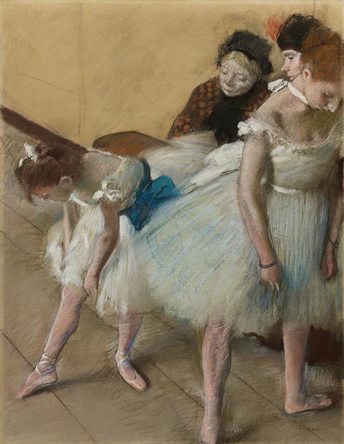 Degas, Dance Examination, DAM Collection