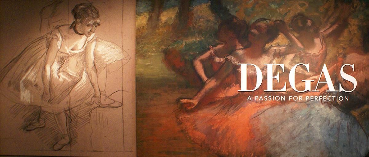 Degas At DAM, photo by De La Vaca