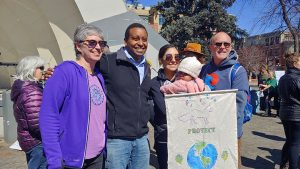 A couple of hundred excited activists and concerned community members assembled at the Boulder Bandshell to take part in the global, youth led...