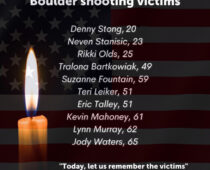 VOICES from Boulder County in the aftermath of a mass gun shooting