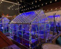 APRESKE 80's Pop-Up Bar Snowing in Louisville