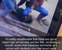 Mead HS Students Mock Black Death: Black Face/Kneeling Incident Dismissed as Harmless #DeLaVacasDesk