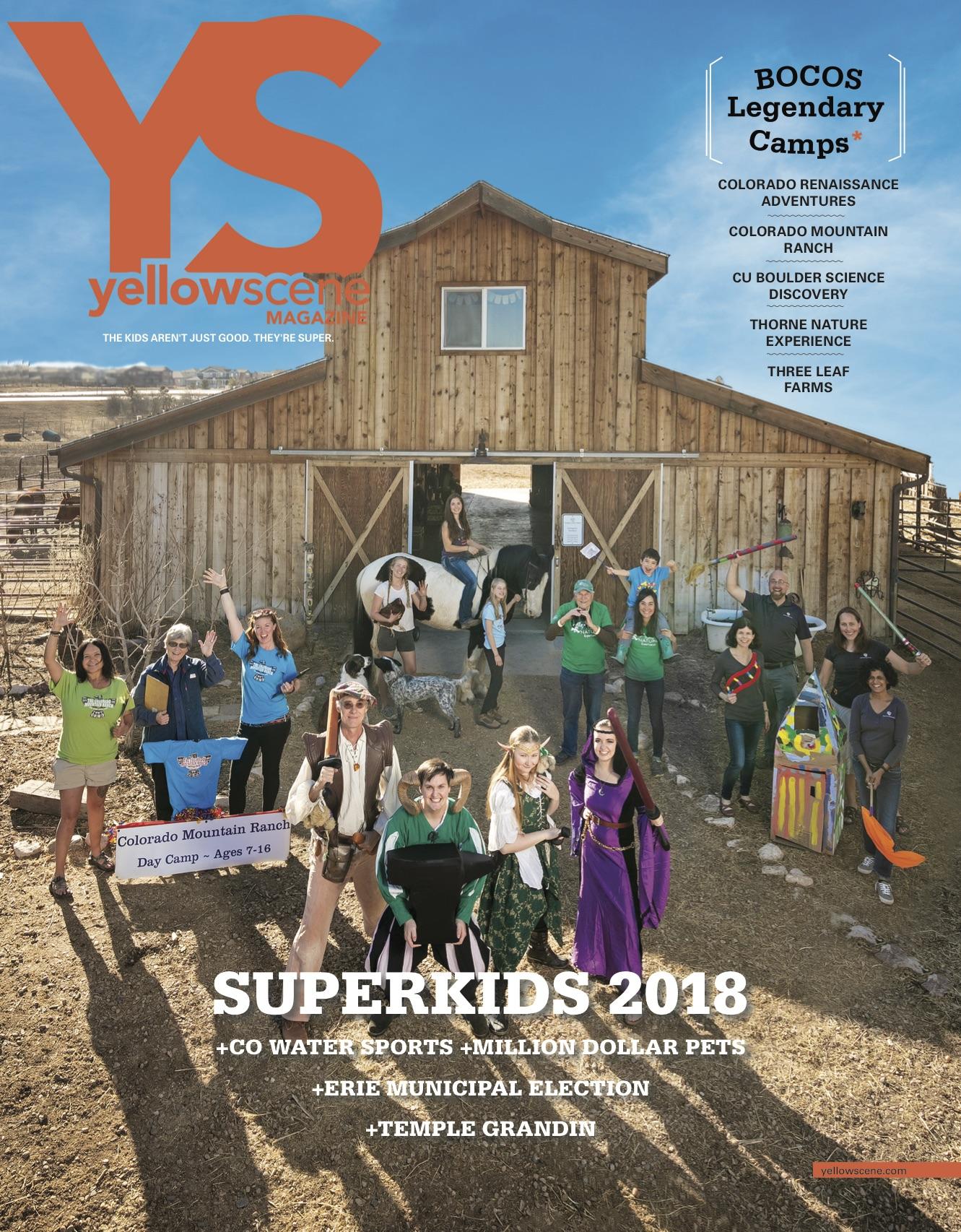 Yellow Scene Magazine : March 2018