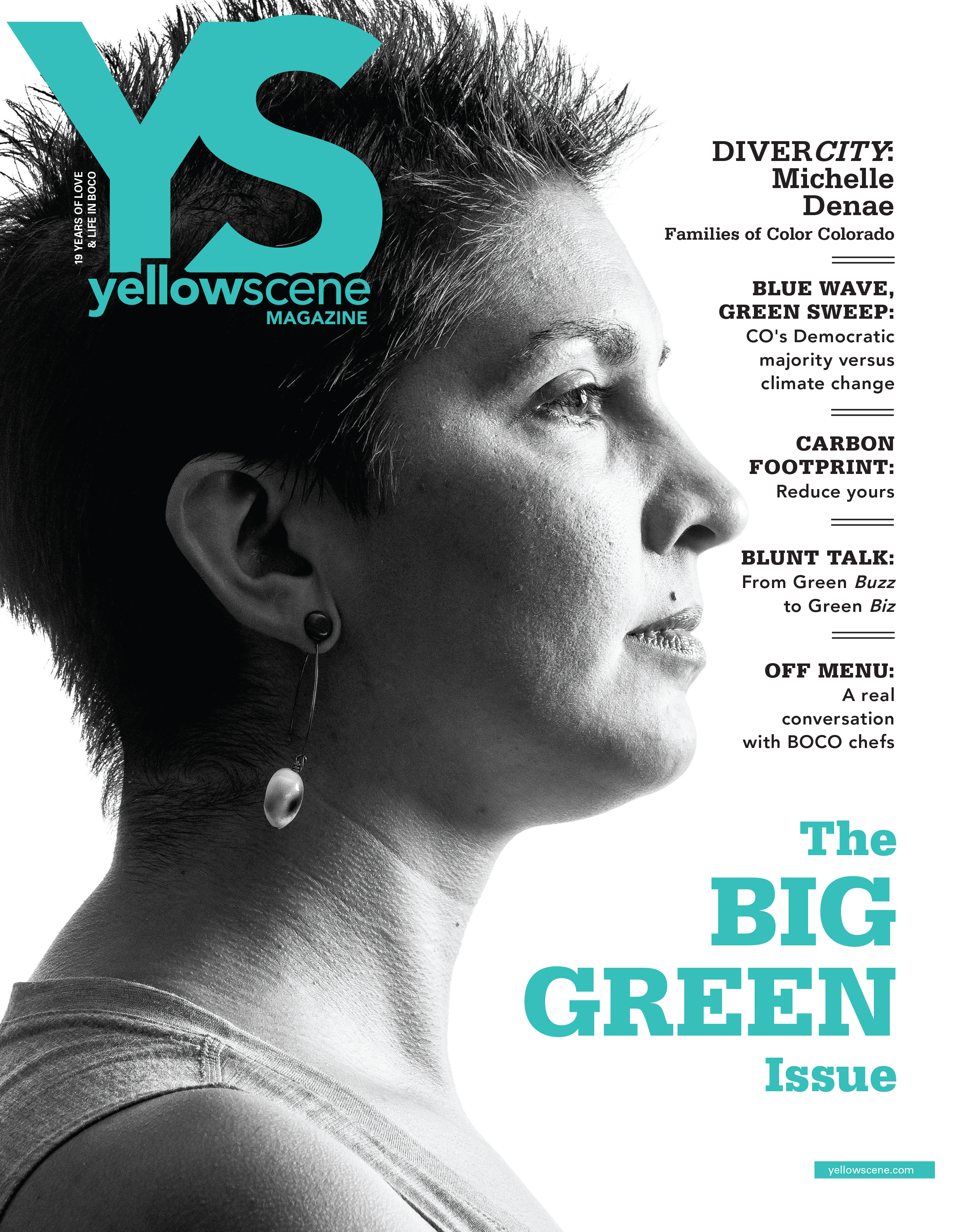 Yellow Scene Magazine : April 2019