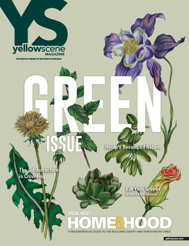 yellow scene  magazine cover for April 2017