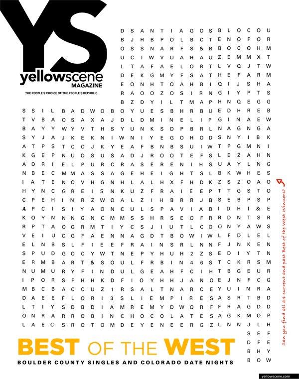 yellow scene  magazine cover for February 2017