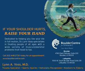 Visit  Boulder Centre for Orthopedics