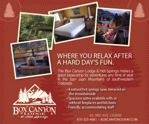 Visit  Box Canyon Lodge & Hot Springs
