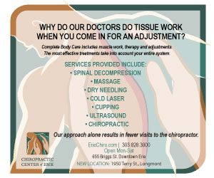 Visit  Chiropractic Center of Erie