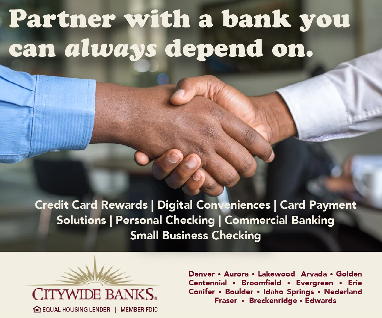 Visit  Citywide Bank (formerly Summit)