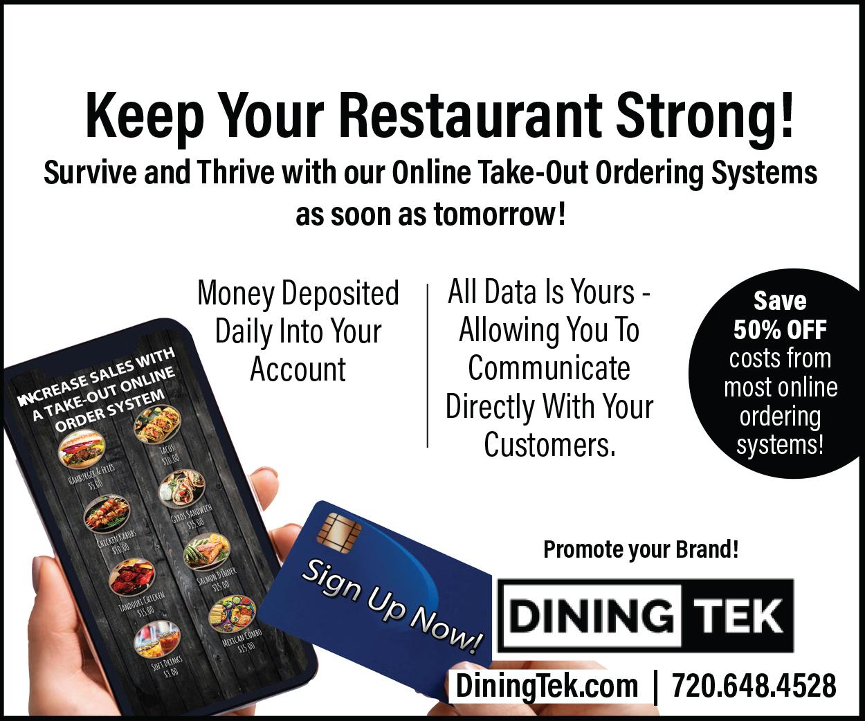 Visit  Dining Tek