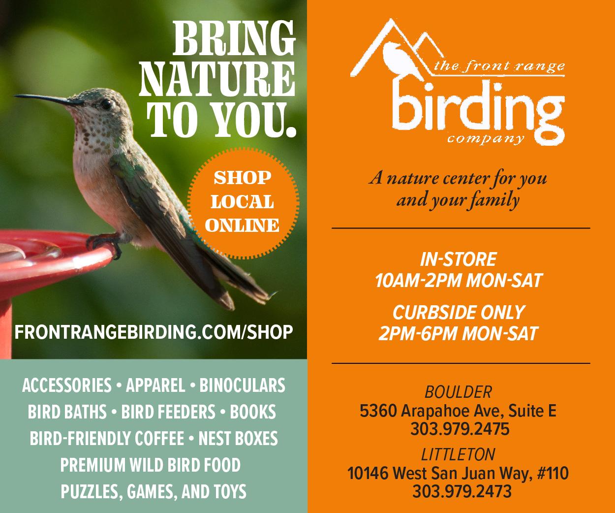 Visit  Front Range Birding Co.