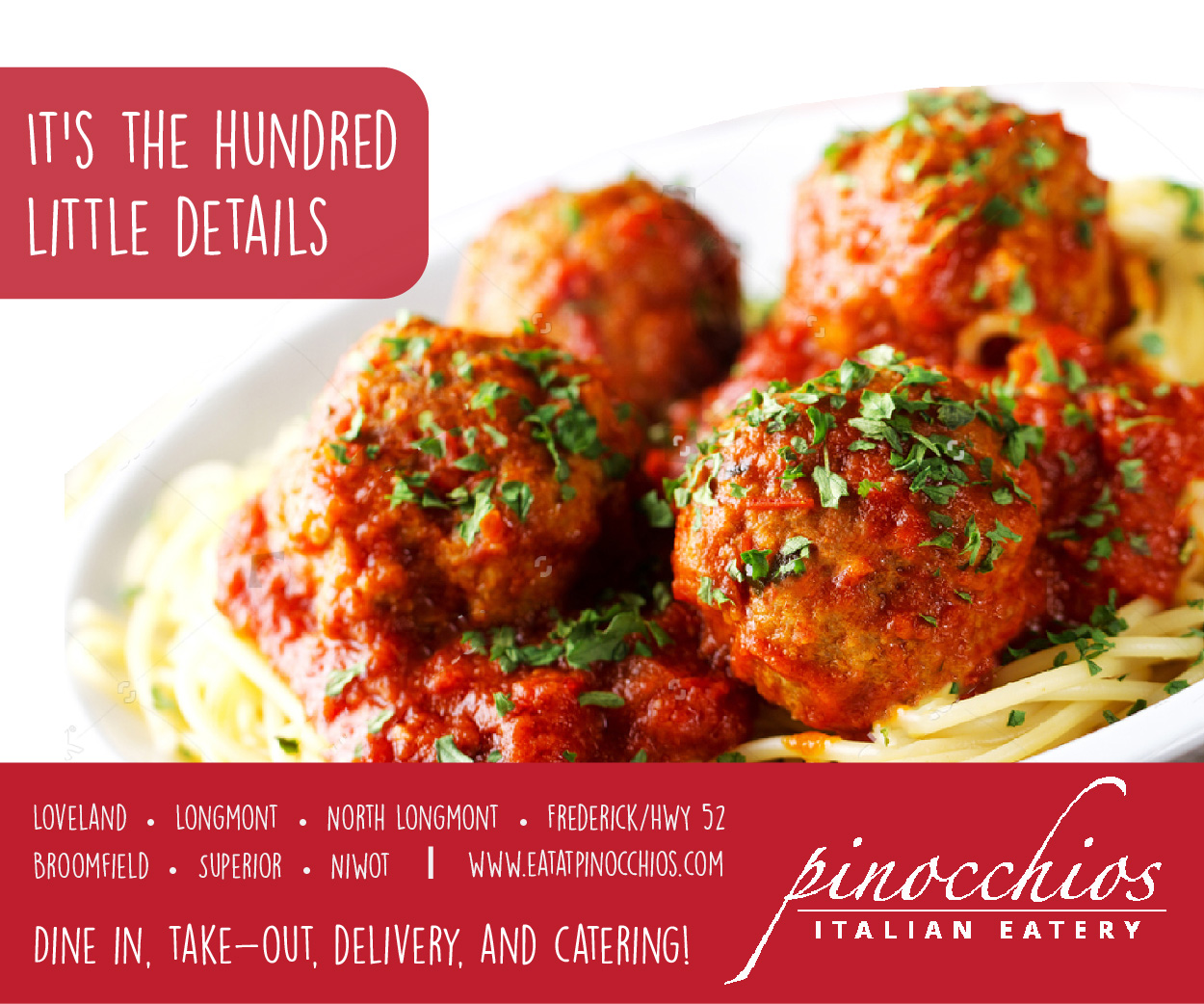 Visit  Pinocchio's Italian Eatery